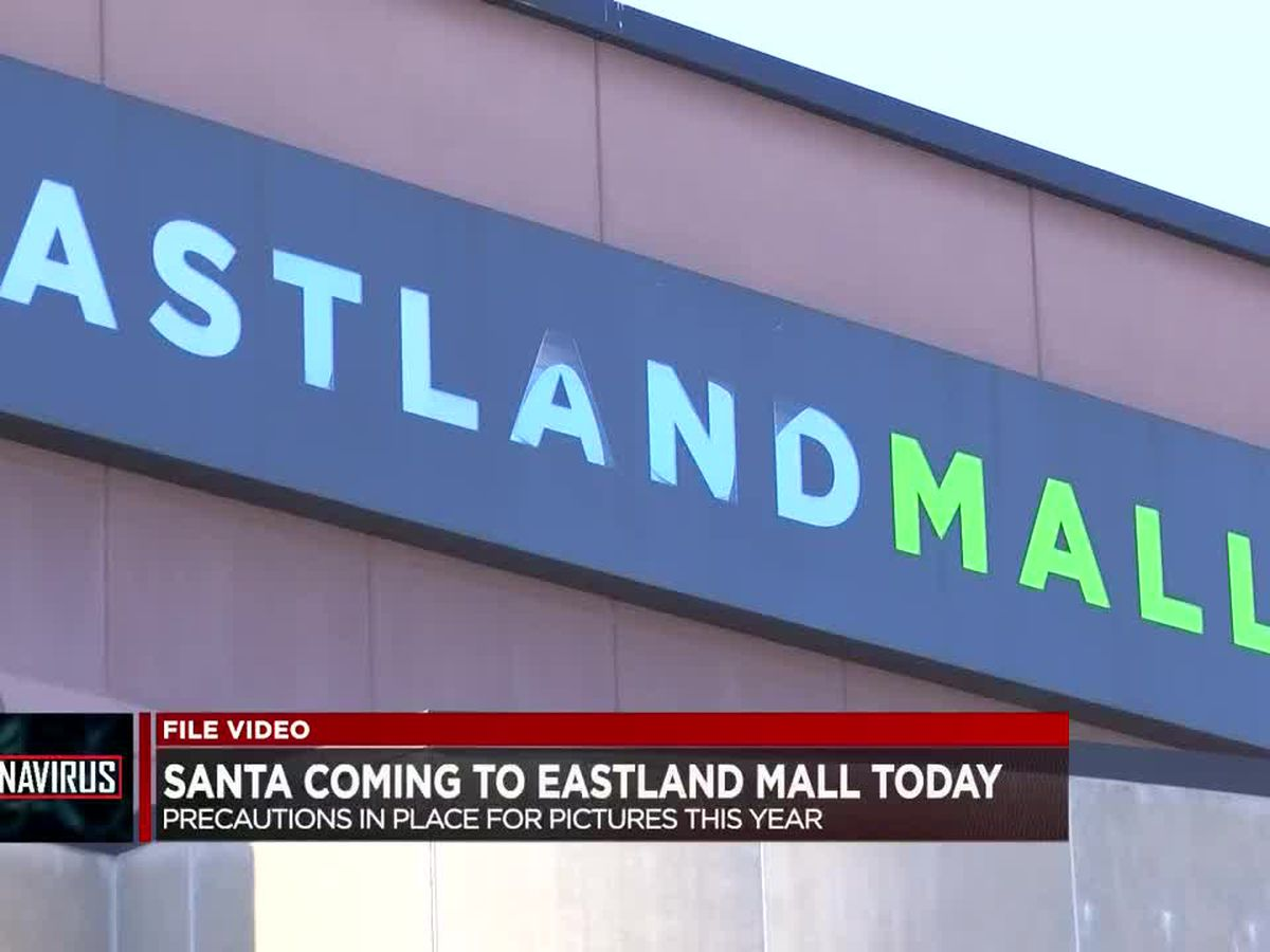 Santa coming to Eastland Mall Friday with extra precautions in place