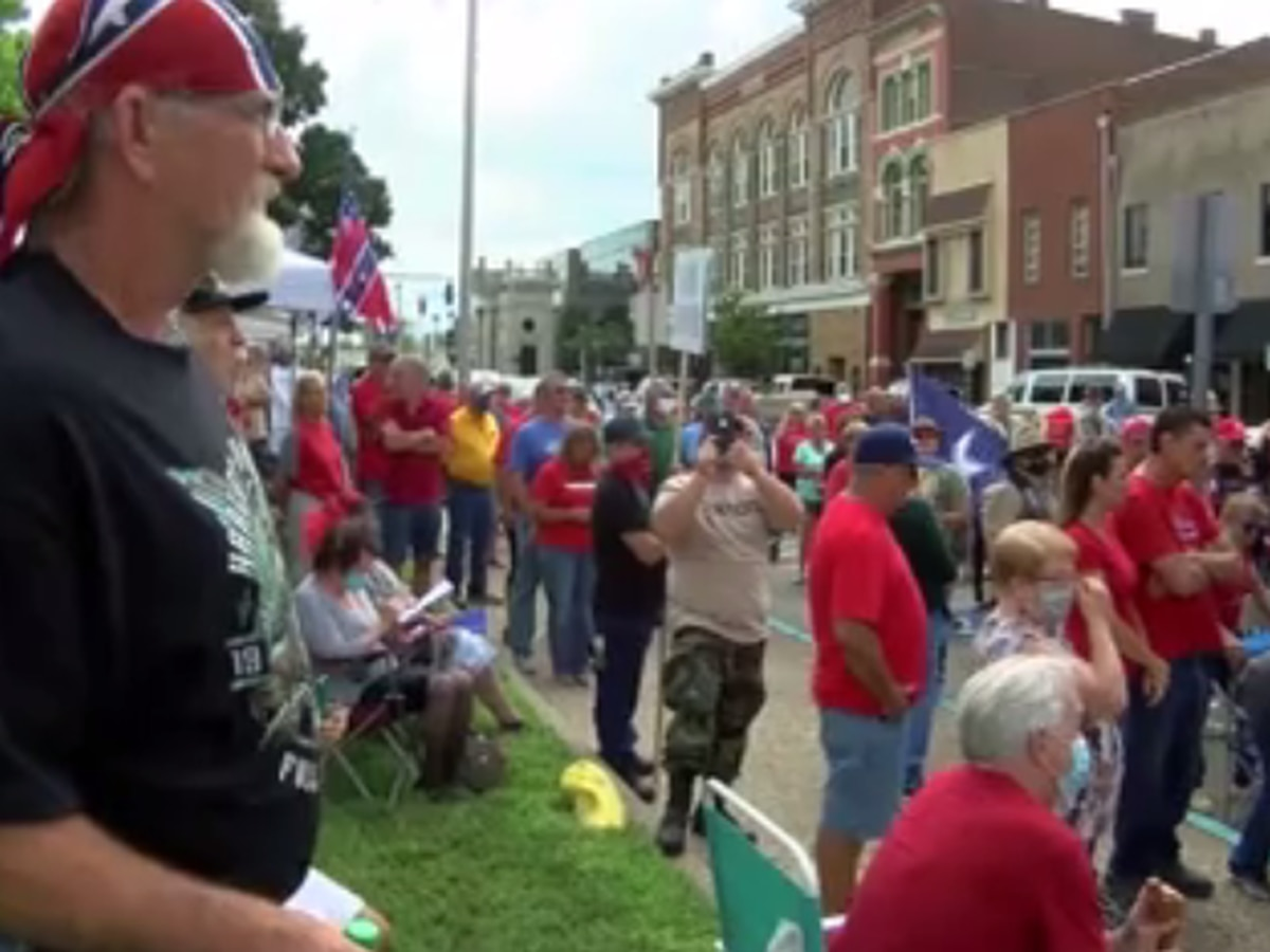 Group organizes 'Save the Confederate Statue' rally in Owensboro