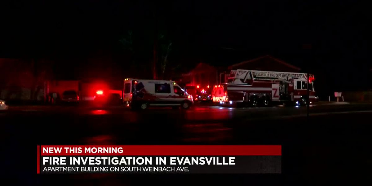 Evansville fire investigation underway