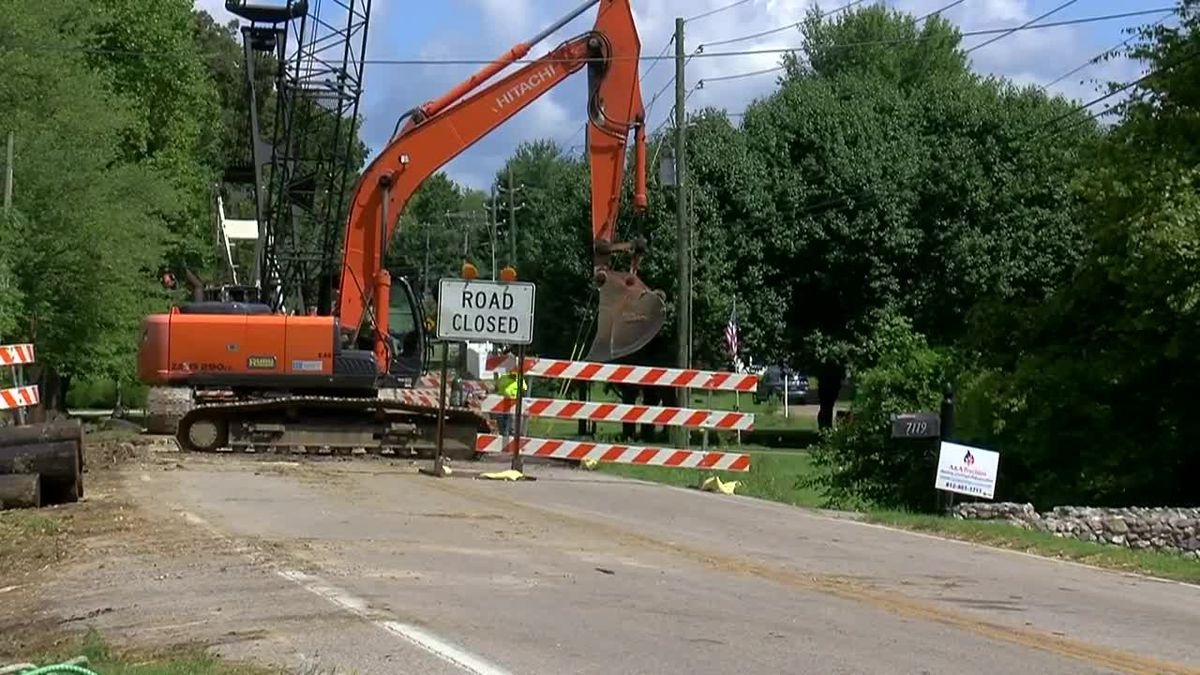 Work on Old State Rd. causing school traffic concerns
