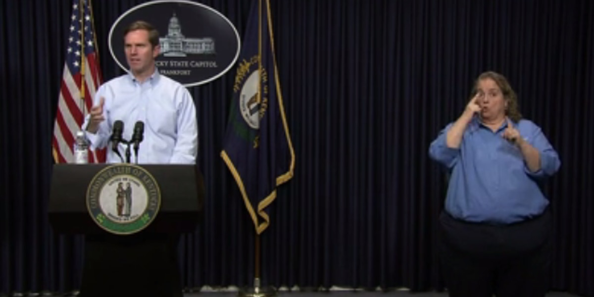 KY Gov. Beshear announces 11 additional COVID-19 deaths, 100 more confirmed cases