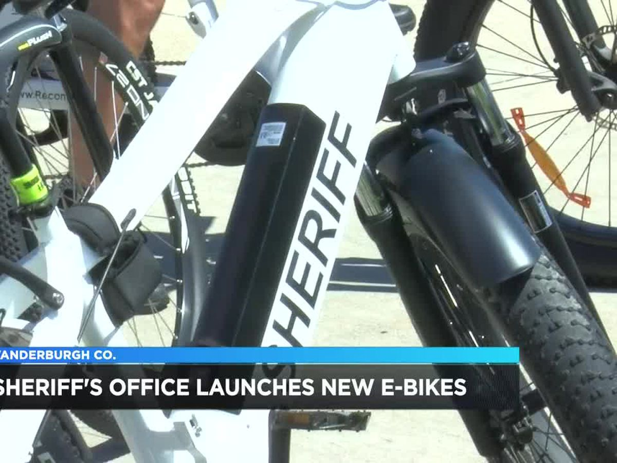 Vanderburgh Co. Sheriff's Office supplying deputies with new e-bikes