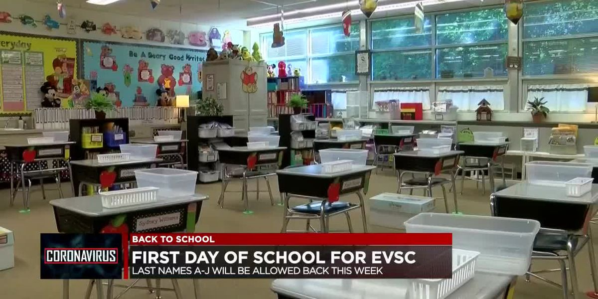 First day of school for EVSC students