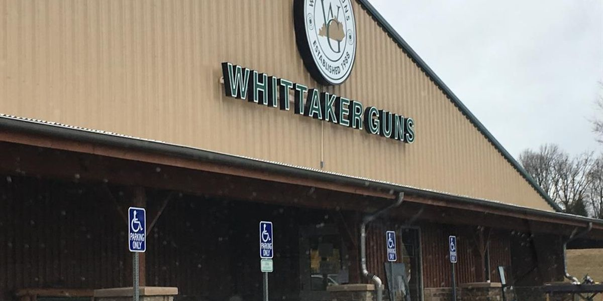 Sheriff's deputies say 40 to 50 handguns were stolen from Owensboro gun shop