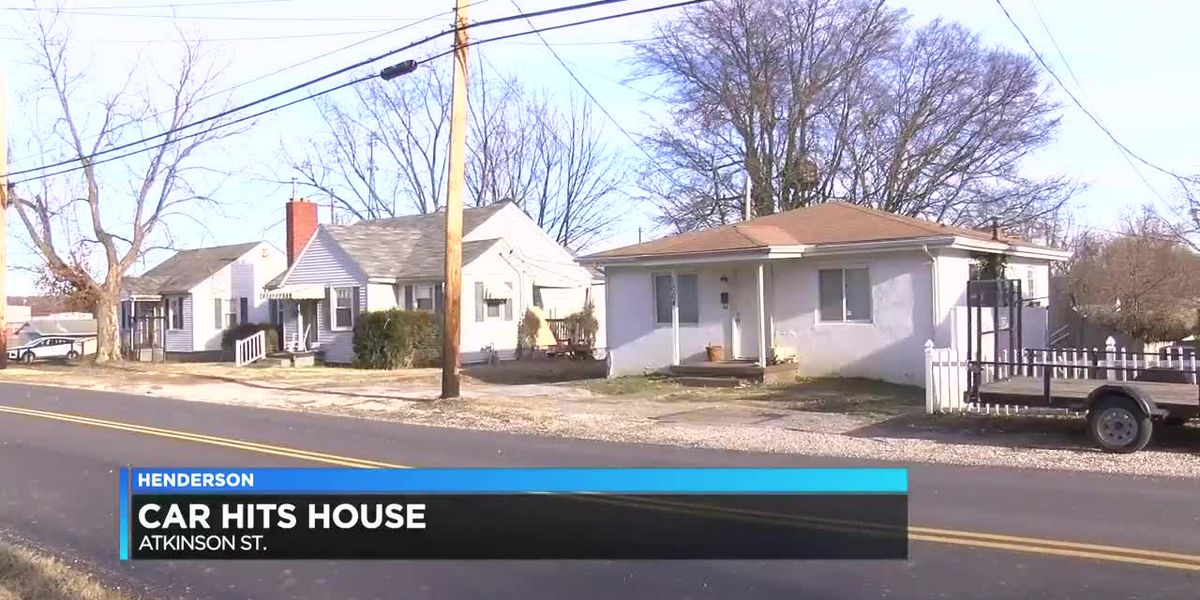 HPD: Driver hits patch of ice, causes damage to house on Atkinson St.