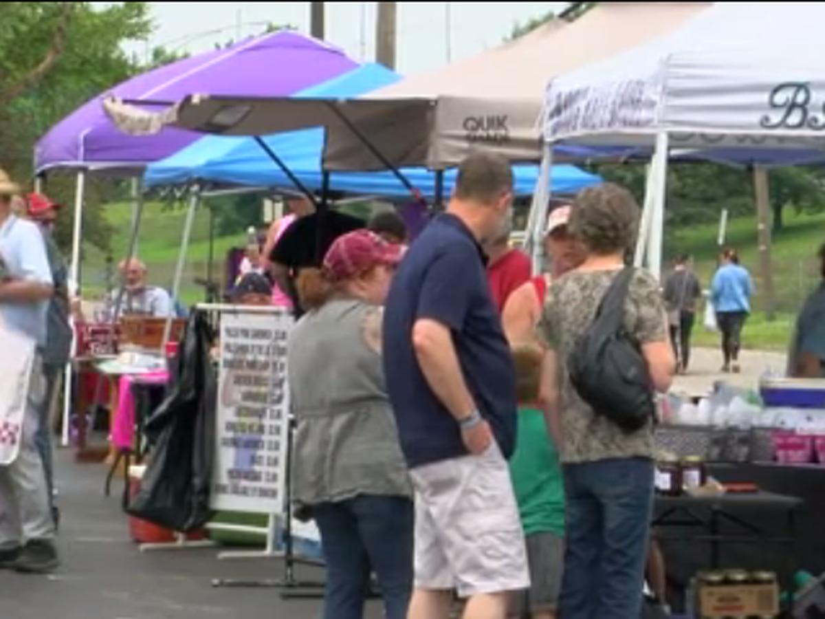 Evansville's Farmers Market summer grand opening