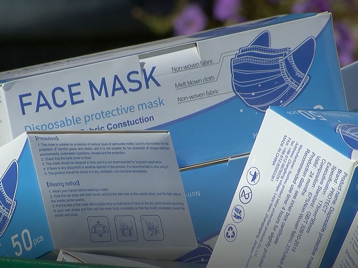 Daviess County officials donate 20,000 masks back to community