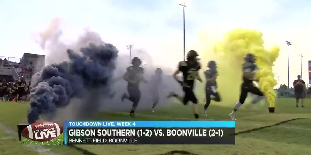 Touchdown Live Week 4: Gibson Southern vs. Boonville