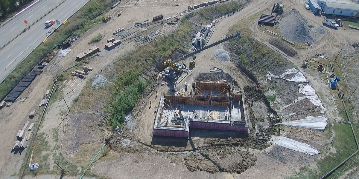 Construction on Sunrise Pump Station continues