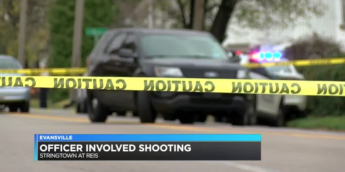 Suspect dead after officer-involved shooting in Evansville