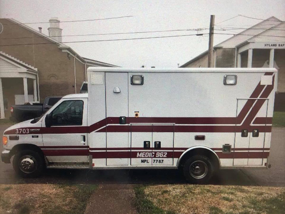 HPD: Stolen decommissioned ambulance found
