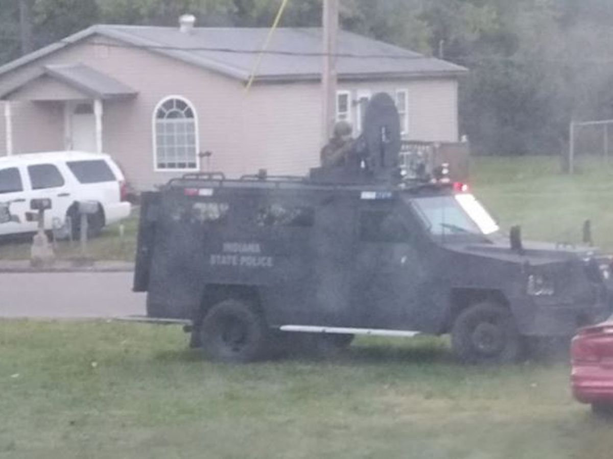 Several hour standoff ends in Boonville