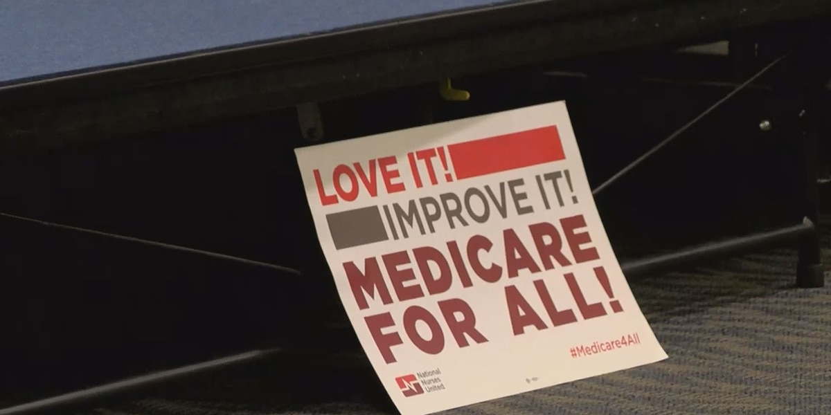 Medicare for All movement stops by Evansville
