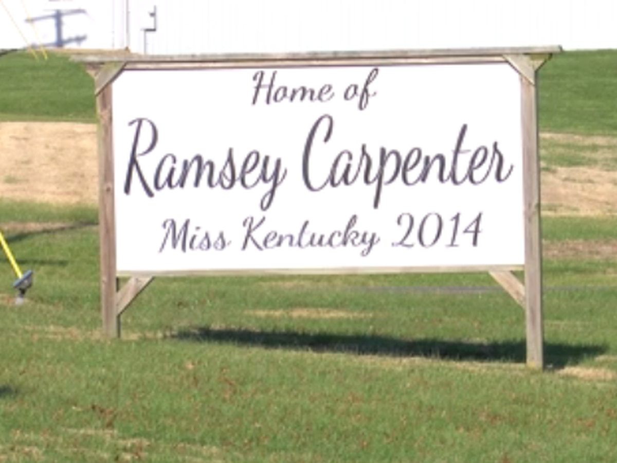 Former Miss KY signs taken down after allegations surface