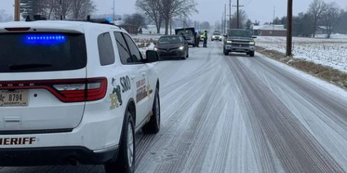 Road conditions worsen with more ice