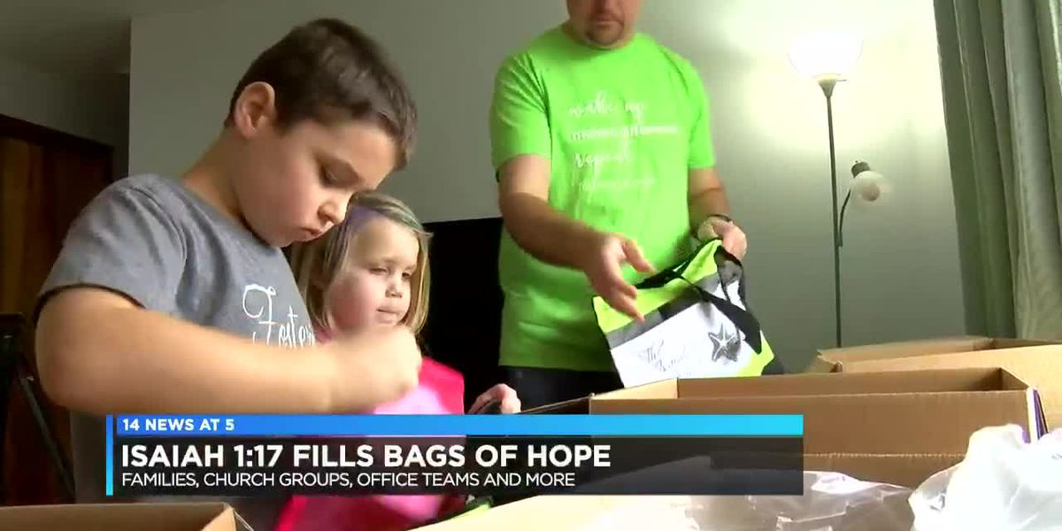 Isaiah 1:17 Project to pack Bags of Hope for over 3,000 foster kids