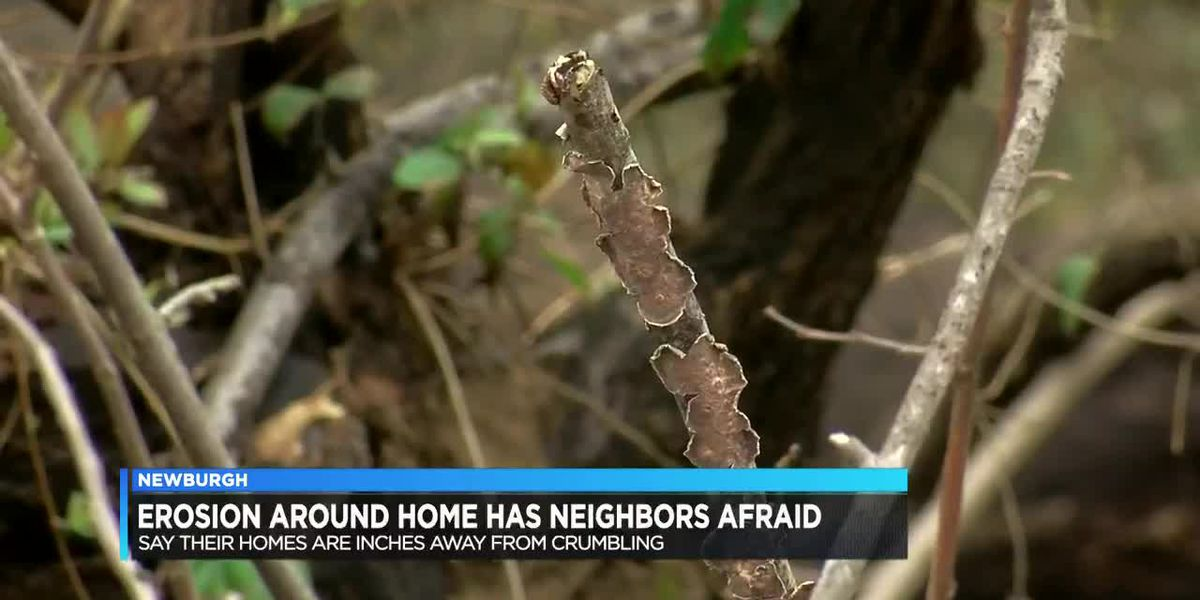 Resident wants answers after erosion issues on property continue