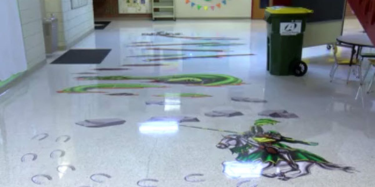 School officials say new sensory path will promote social-emotional learning