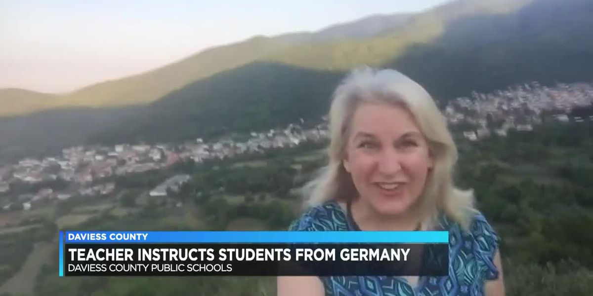 Daviess Co. teacher instructs students from Greece