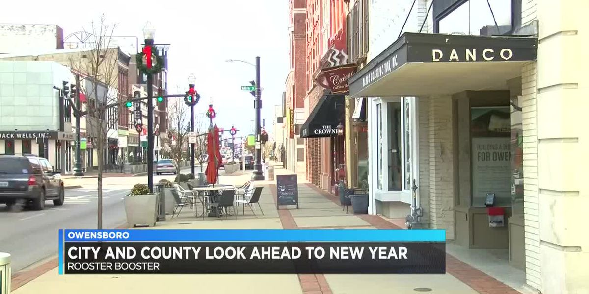 City, County officials look forward to new year at Rooster Booster