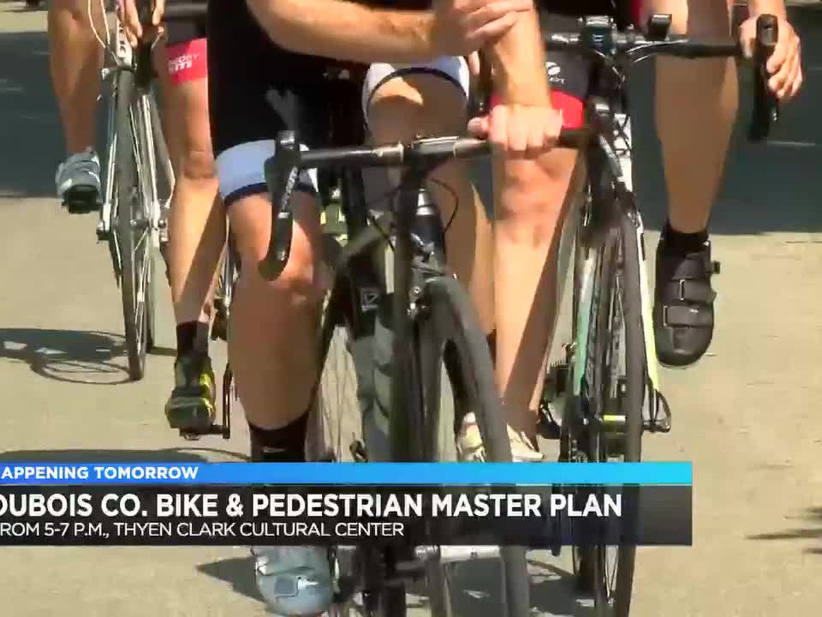 Public meeting planned for Dubois Co. Bike & Pedestrian Master Plan
