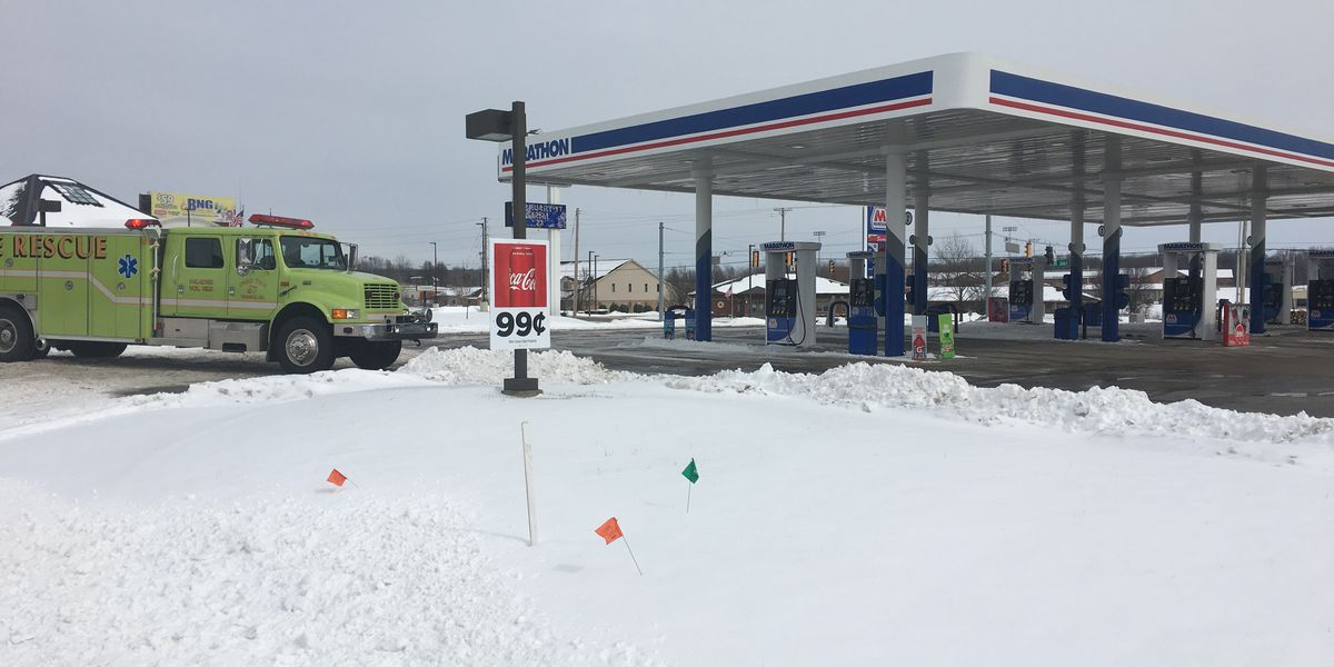 Fire crews called to Newburgh gas station