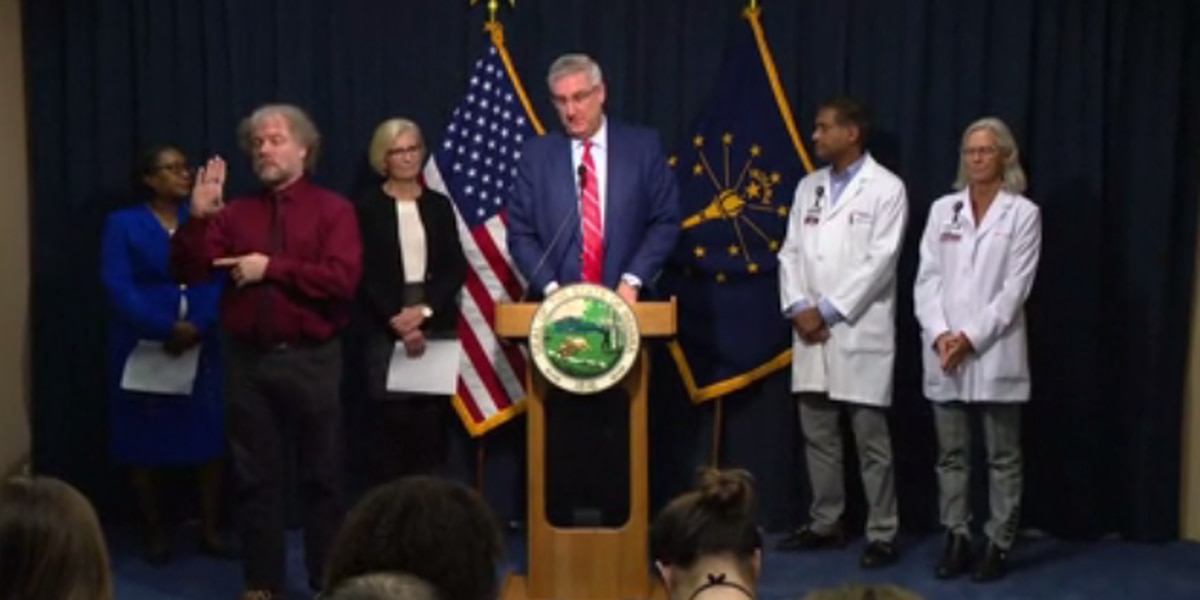 """We have to act now."" IN Lt. Gov. discusses state's preparedness for more coronavirus cases"