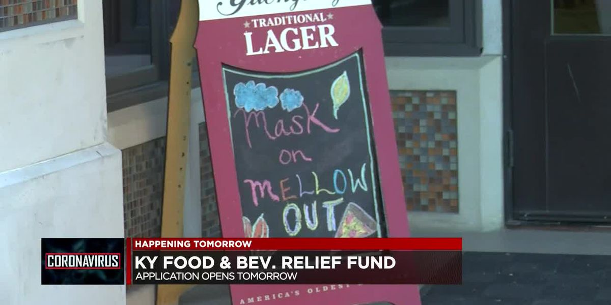 KY food and beverage relief fund application opens Mon.
