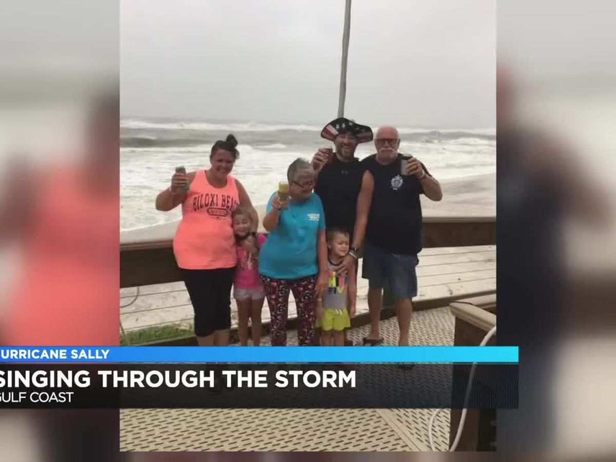 Evansville family vacationing on gulf coast survives, sings through Hurricane Sally