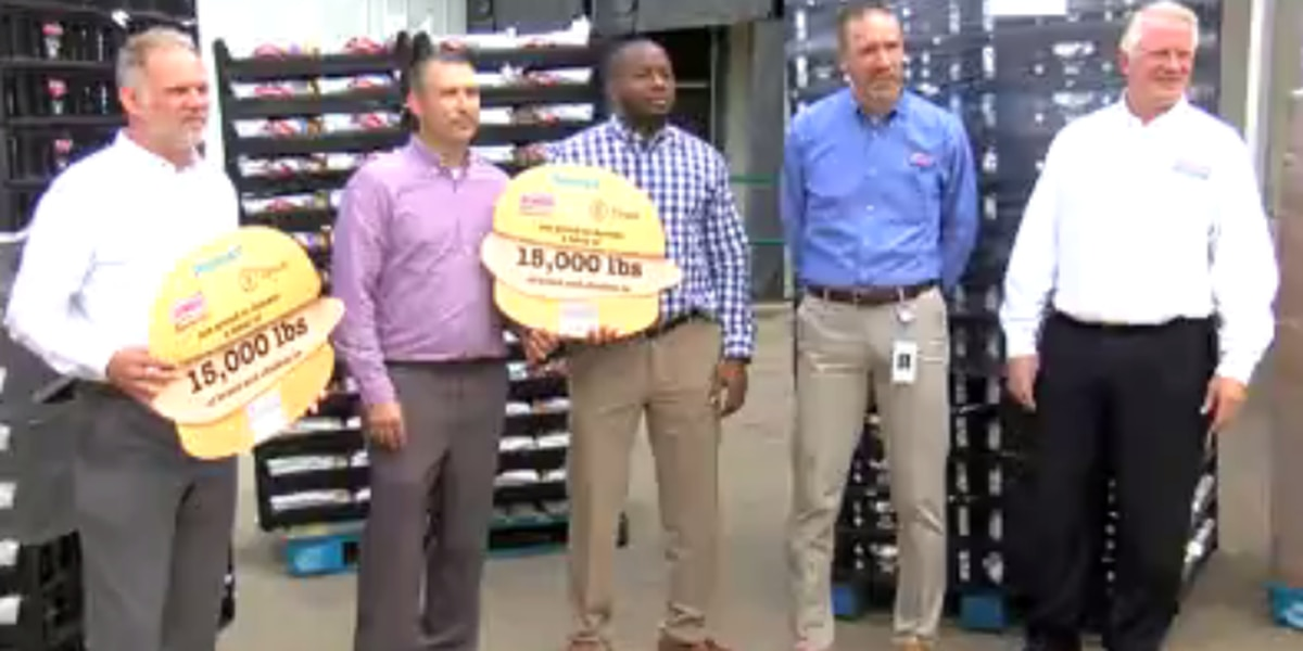Tri-State Food Bank receives 15K pounds of food