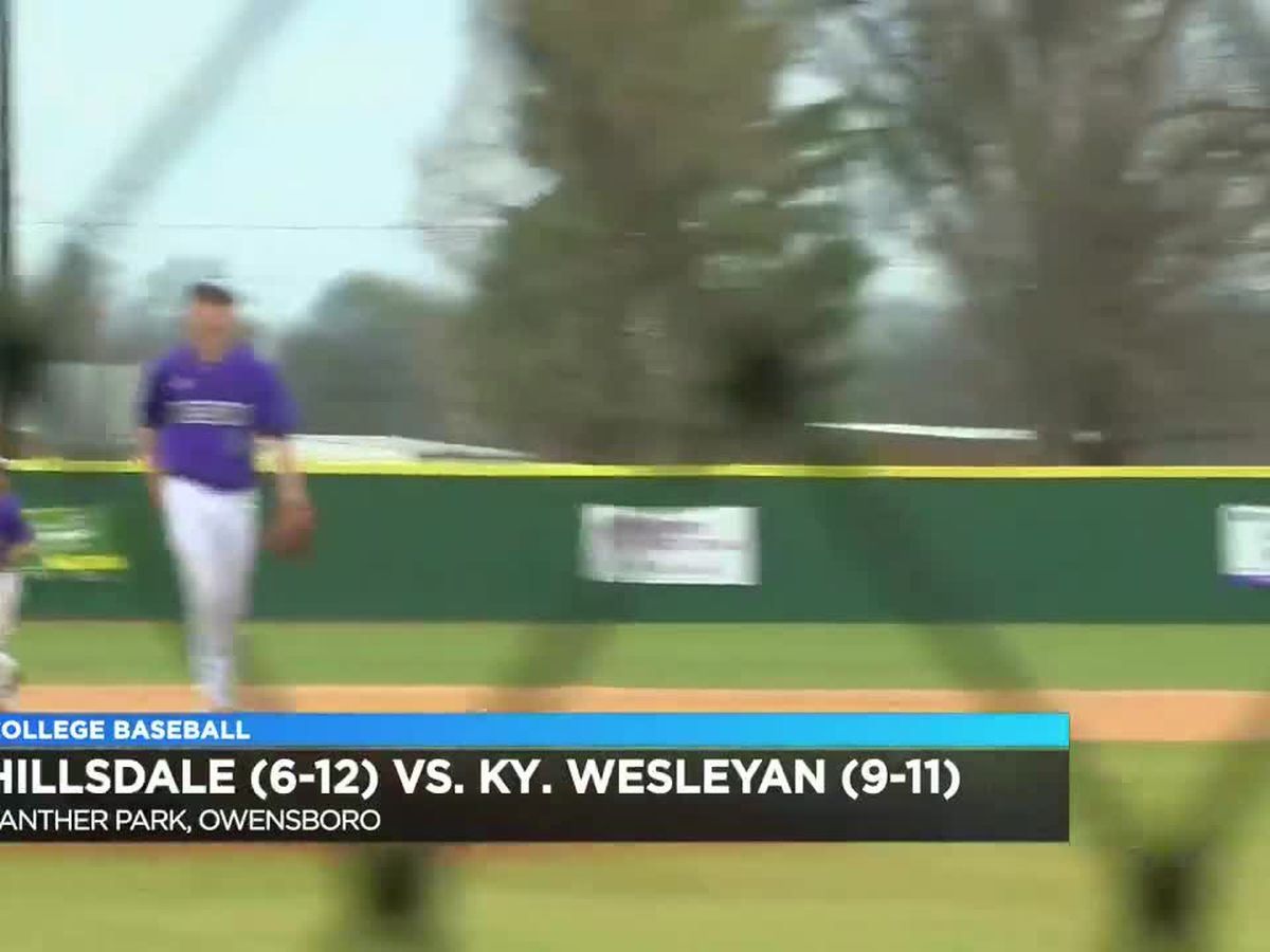 HIGHLIGHTS: KWC vs Hillsdale baseball
