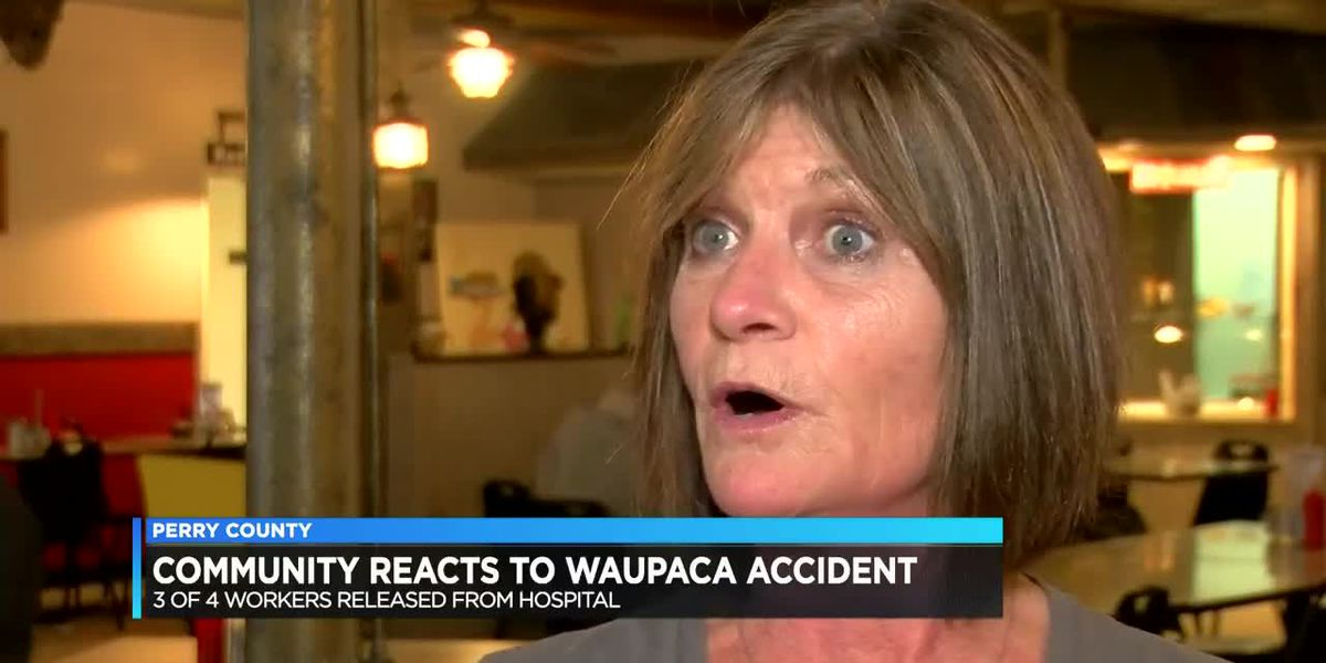 Community reacts after Waupaca's Foundry Plant accident sent 4 to hospital