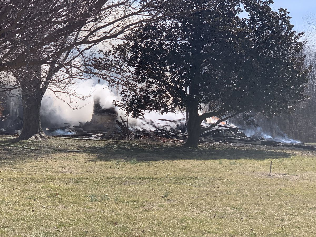 Officials: Multiple agencies respond to house fire in Spencer Co.