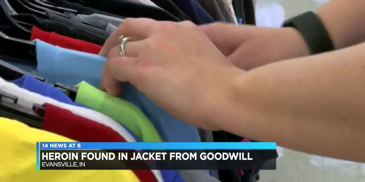 Goodwill customer finds suspected heroin in jacket pocket, police say