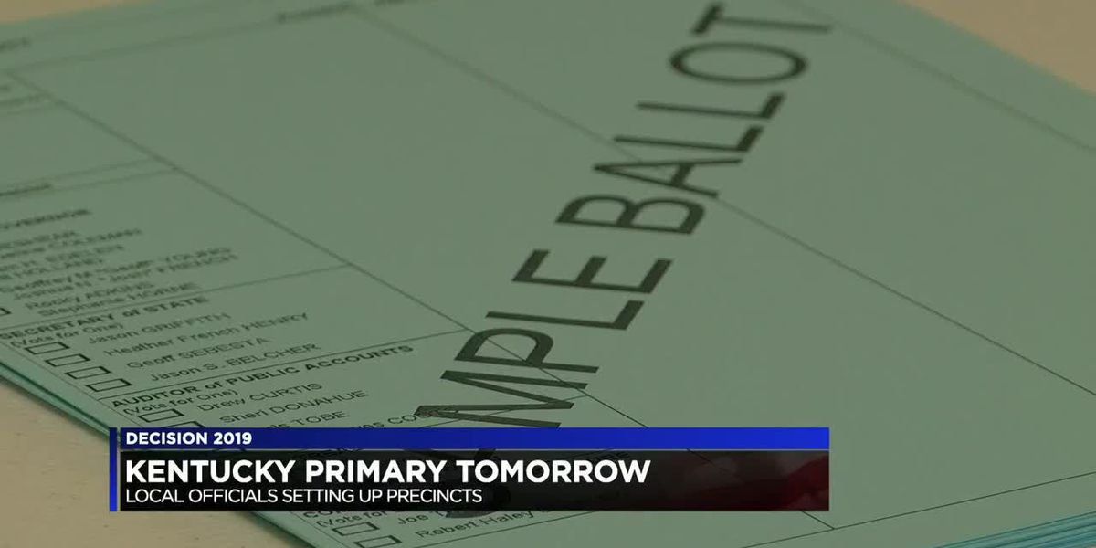 KY primary set for Tuesday