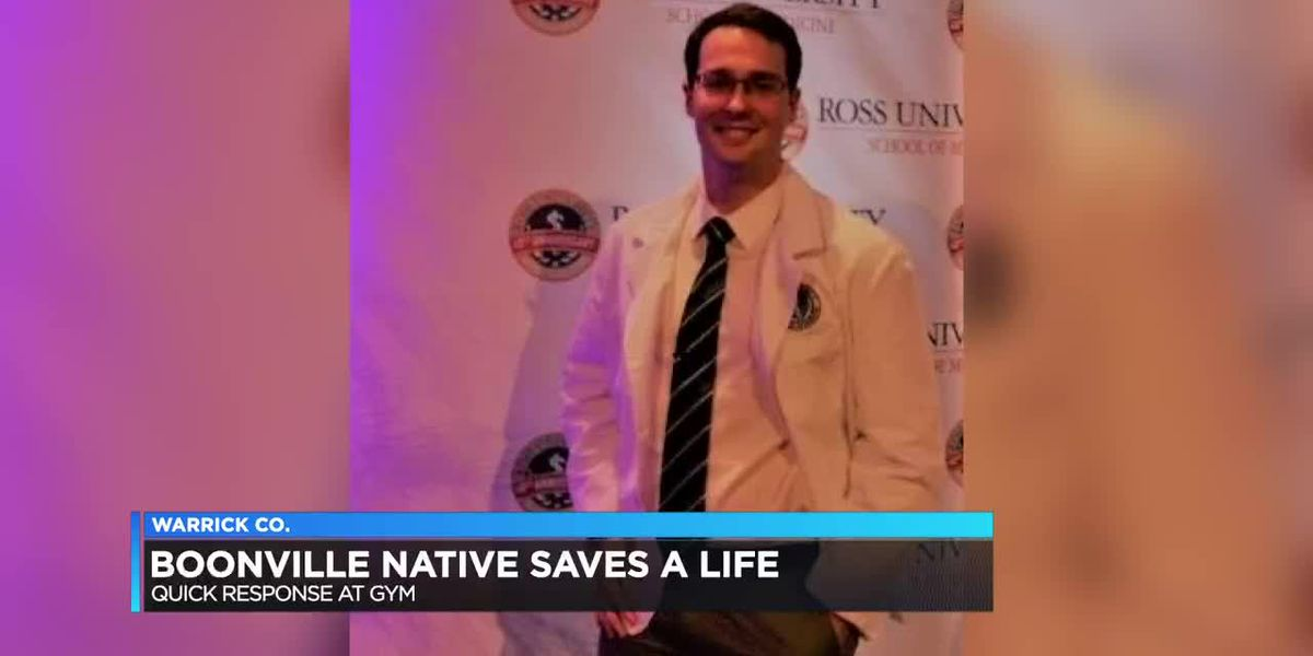 Boonville native medical student saves life with CPR