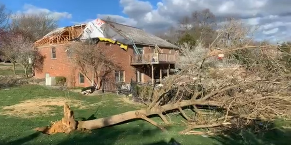 Sat. storms badly damage Tri-State homes