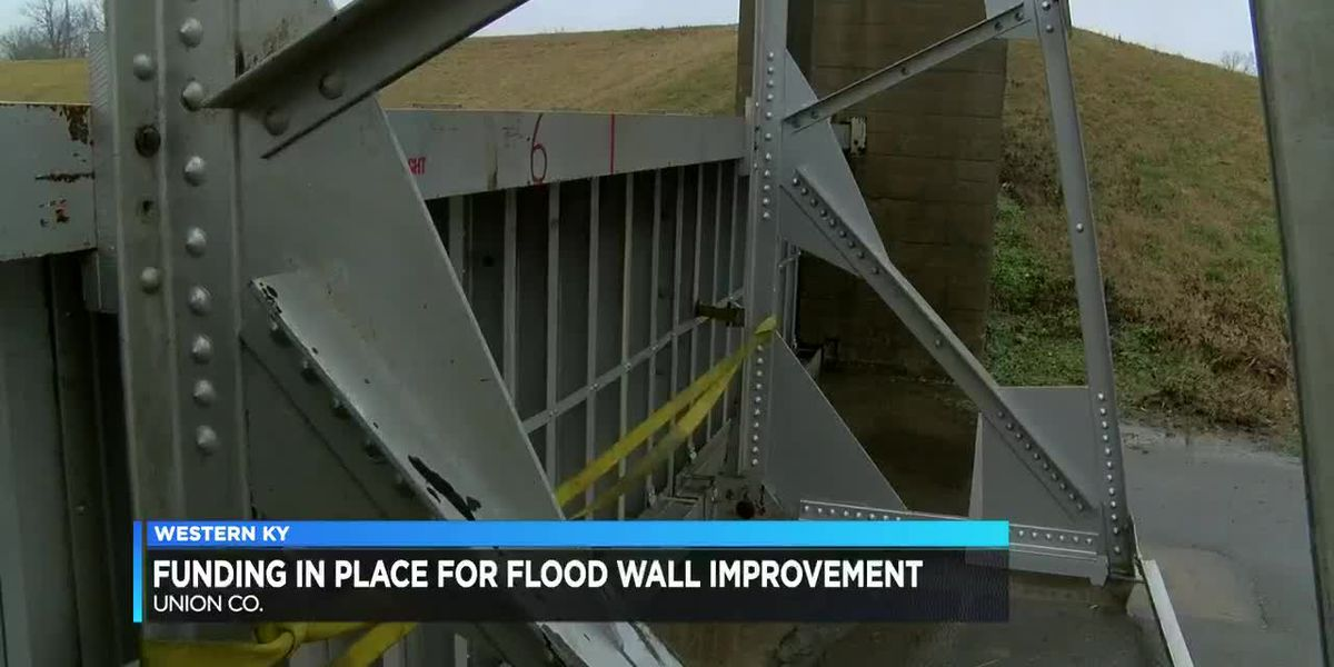 Funding in place for Sturgis flood wall improvements