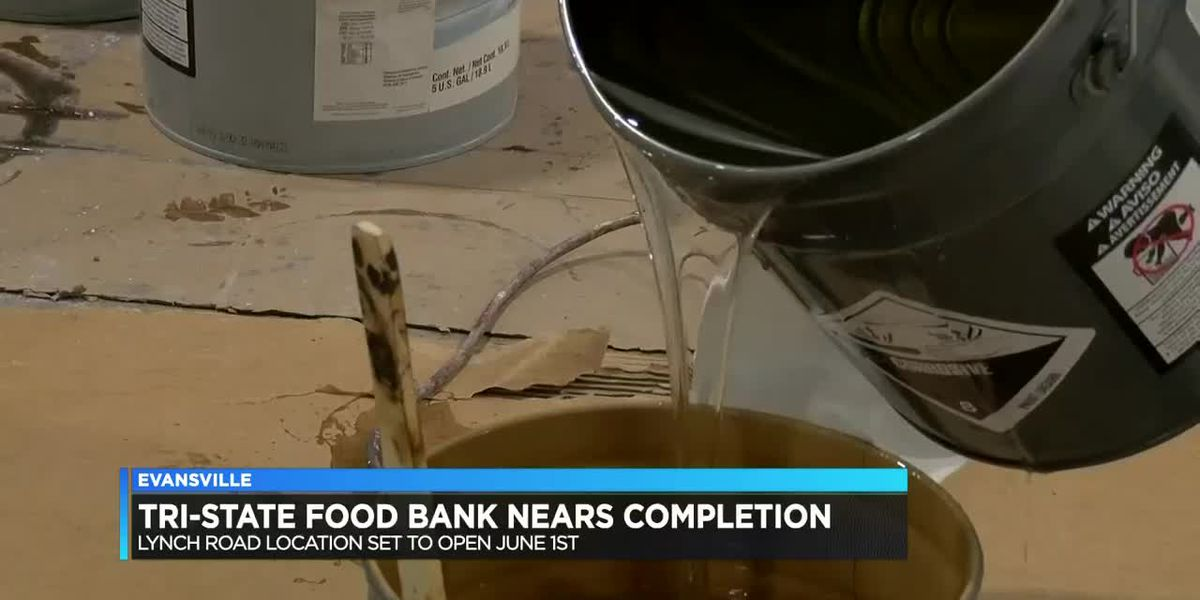Tri-State Food Bank's expansion project nears completion