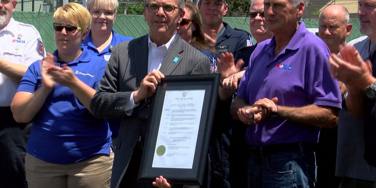 May 24 proclaimed EMS Day in Evansville