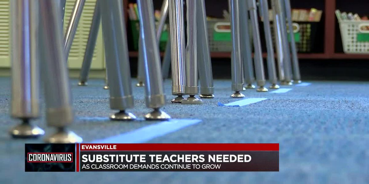 Substitute teachers needed in Evansville as classroom demands continue to grow