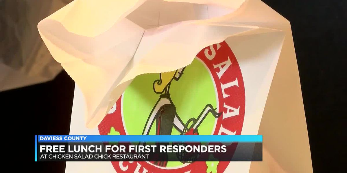 Owensboro restaurant gives away free lunches to road workers, first responders