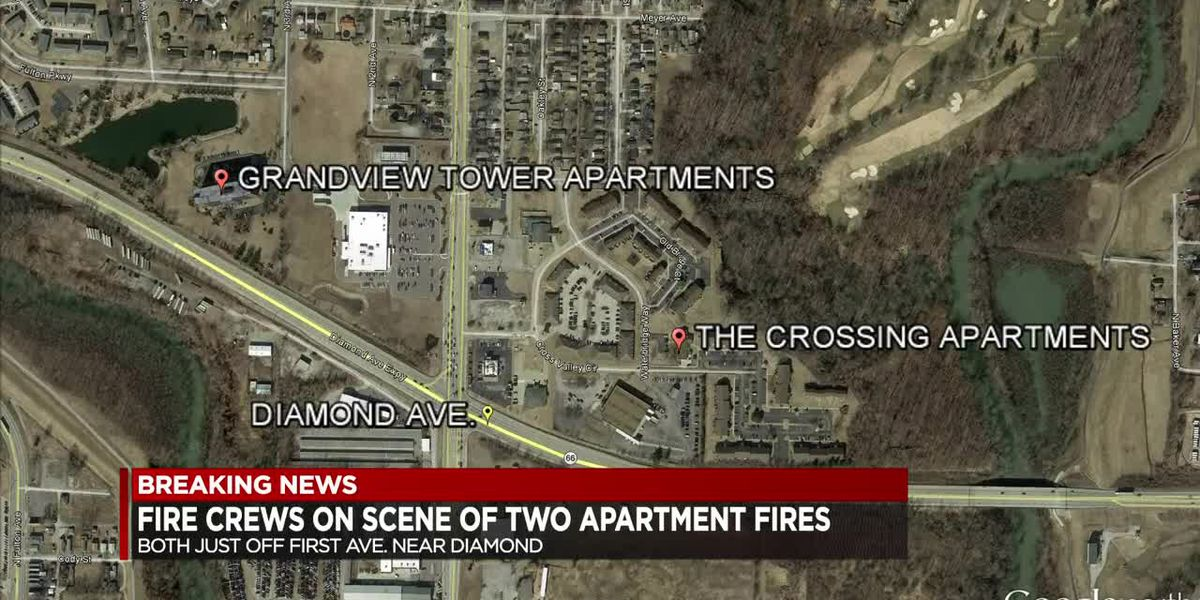 Fires at two different Evansville apartment buildings under investigation