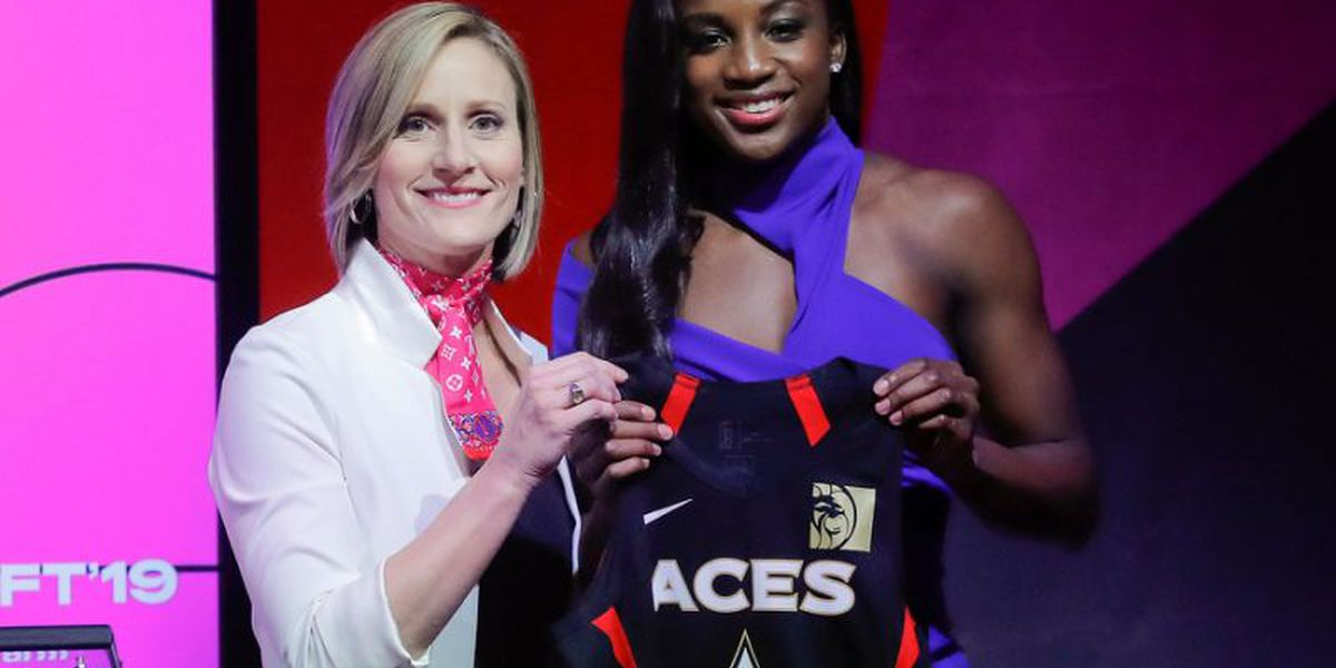 Jackie Young Strong in Pro Debut with Vegas Aces