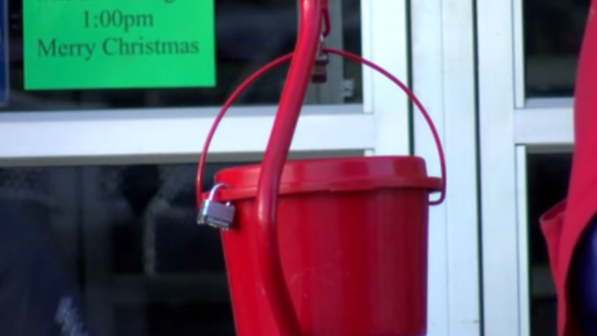 Salvation Army kicks off Red Kettle campaign with big goal