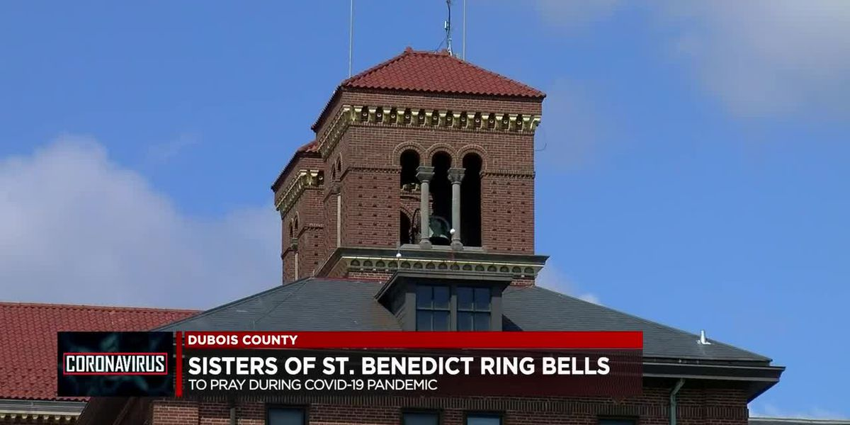 Sisters of Saint Benedict ring church bells to pray for people affected by COVID-19