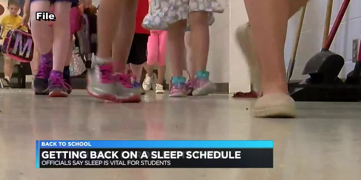 Sleep schedules 'vital' for students heading back to school