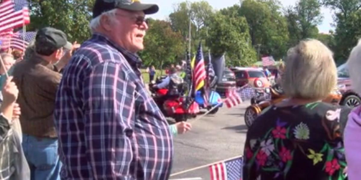 Honor Flight send-off for Western Kentucky veterans