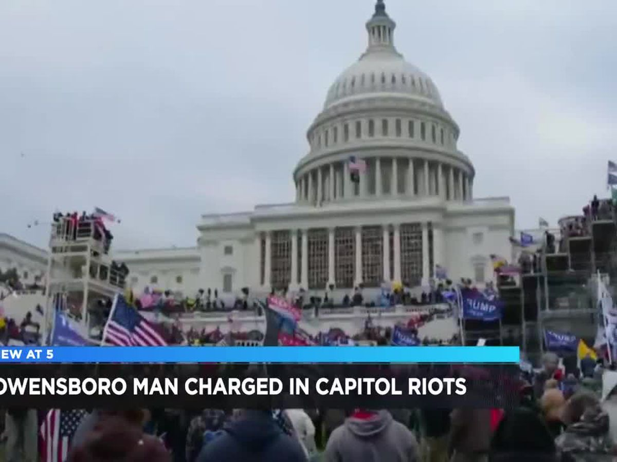 FBI make arrest in Owensboro in connection to Capitol riot