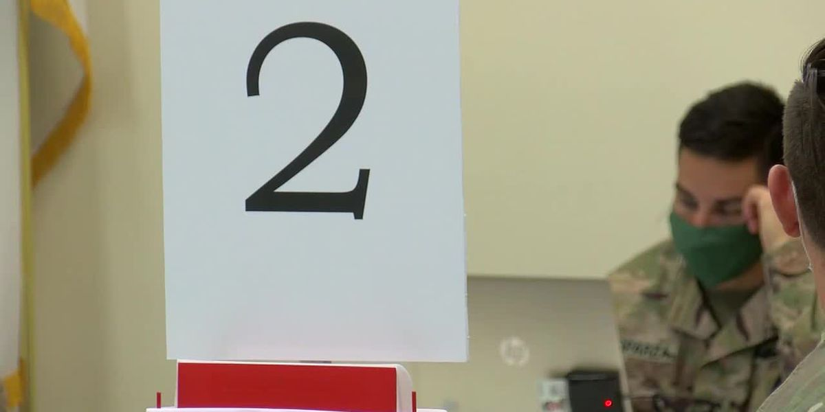 Low turnout for first day of federal Henderson vaccination clinic